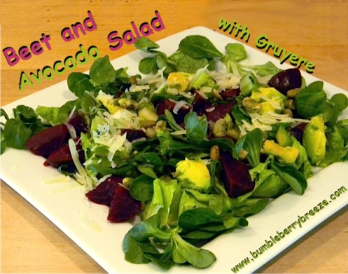 Beet-Avocado Salad 2