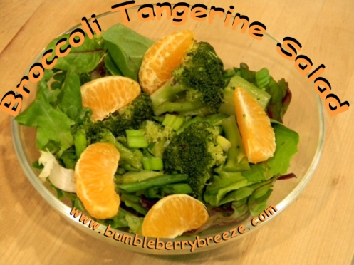 Broccoli Tangerine Salad