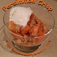 Persimmon Crisp